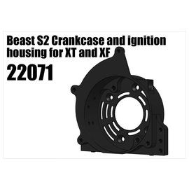 RS5 Modelsport Beast S2 Crankcase and ignition housing for XT and XF
