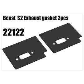 RS5 Modelsport Beast  S2 Exhaust gasket 2pcs