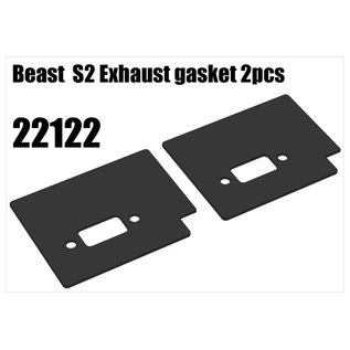 RS5 Modelsport Beast  S2 Exhaust gasket 2pcs