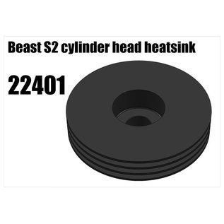 RS5 Modelsport Beast S2 cylinder head heatsink