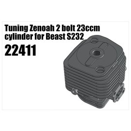 RS5 Modelsport Tuning Zenoah 2 bolt 23ccm cylinder for Beast S232
