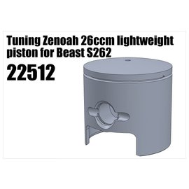 RS5 Modelsport Tuning Zenoah 26ccm lightweight piston for Beast S262