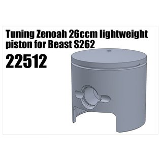 RS5 Modelsport Tuning Zenoah 26ccm lightweight piston for Beast S262
