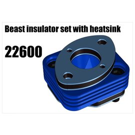 RS5 Modelsport Beast insulator set with heatsink