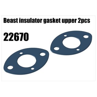 RS5 Modelsport Beast insulator gasket upper 2pcs