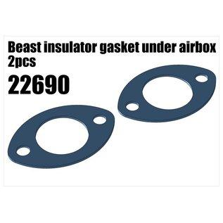 RS5 Modelsport Beast insulator gasket under airbox 2pcs