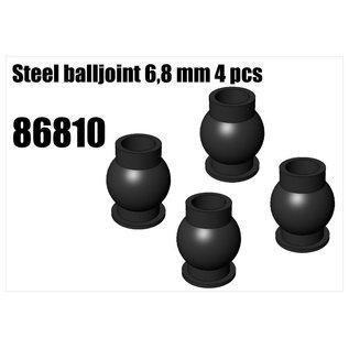 RS5 Modelsport Steel 6,8mm ball 4pcs