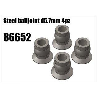 RS5 Modelsport Steel balljoint d5.7mm 4pcs