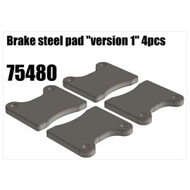 """RS5 Modelsport Brake steel pad """"version 1"""""""