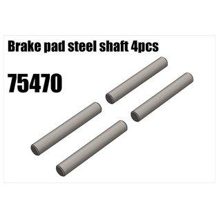 RS5 Modelsport Brake pad steel shaft 4pcs