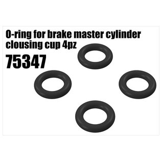 RS5 Modelsport Brake O-ring for master cylinder clousing cup 4pcs
