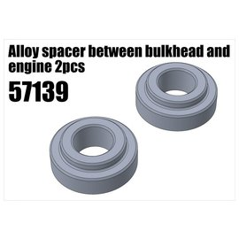 RS5 Modelsport Alloy spacer between bulkhead and engine