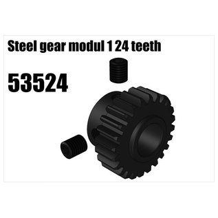 RS5 Modelsport Steel gear modul 1 24 teeth