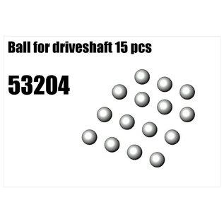 RS5 Modelsport Steel ball for driveshaft 15pcs