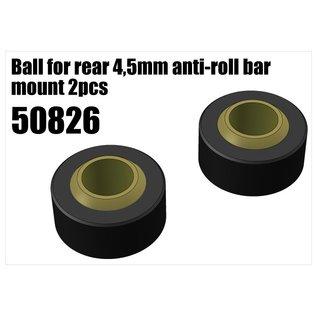 RS5 Modelsport Plastic ball joint for anti-roll bar holder 4,5mm 2pcs