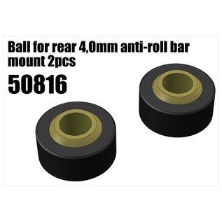 RS5 Modelsport Plastic ball joint for anti-roll bar holder 4mm 2pcs
