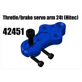 RS5 Modelsport Alloy Throtle/brake servo arm 24t (Hitec)