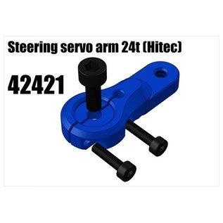 RS5 Modelsport Alloy single servo arm 24t (Hitec)