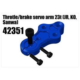 RS5 Modelsport Alloy Throtle/brake servo arm 23t (JR, KO, Sanwa)