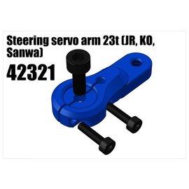 RS5 Modelsport Alloy single servo arm 23t (JR, KO, Sanwa)