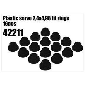 RS5 Modelsport Plastic servo 2,4x4,98 fit rings 1