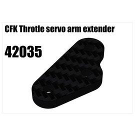 RS5 Modelsport CFK Throtle servo arm extender