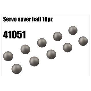 RS5 Modelsport Steel ball for servo saver 10pcs