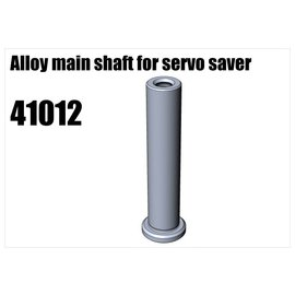 RS5 Modelsport Alloy main shaft for servo saver