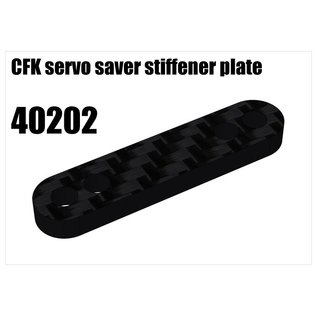 RS5 Modelsport CFK servo saver stiffener plate