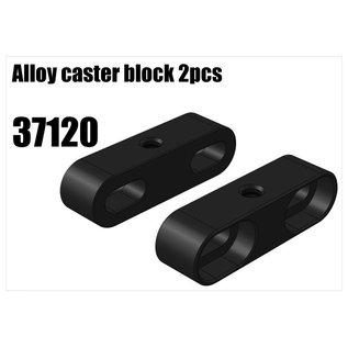 RS5 Modelsport Alloy caster block 2pcs