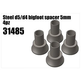 RS5 Modelsport Steel d5/d4 bigfoot spacer 5mm
