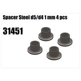 RS5 Modelsport Steel d5/d4 spacer 1mm