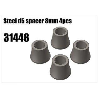 RS5 Modelsport Steel d5 spacer 8mm 4pcs