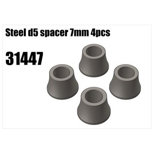 RS5 Modelsport Steel d5 spacer 7mm 4pcs