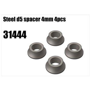 RS5 Modelsport Steel d5 spacer 4mm 4pcs