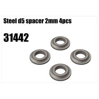 RS5 Modelsport Steel d5 spacer 2mm 4pcs