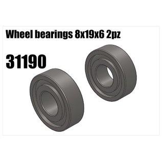 RS5 Modelsport Wheel bearing 8x19x6 2pcs