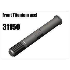 RS5 Modelsport Titanium front wheel axel