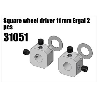 RS5 Modelsport Alloy wheel square 11mm 2pcs