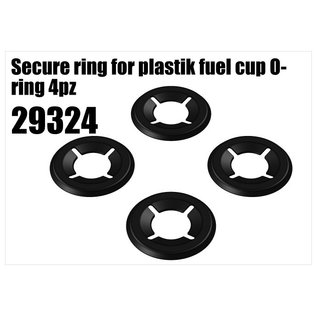 RS5 Modelsport Secure ring for plastik fuel cup O-ring 4pcs