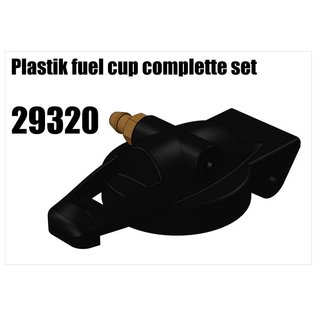 RS5 Modelsport Plastik fuel cap complete set