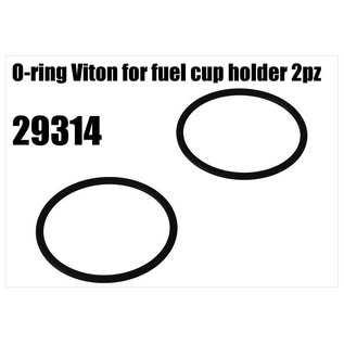 RS5 Modelsport O-ring Viton for fuel cup holder 2pcs