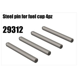 RS5 Modelsport Steel pin for fuel cup 4pcs