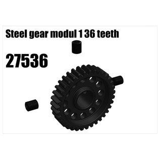 RS5 Modelsport Steel gear modul 1 36 teeth