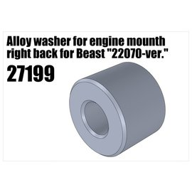 """RS5 Modelsport Alloy washer for engine mount right back for Beast """"22070-version"""""""