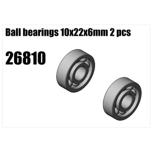 RS5 Modelsport Clutch bell bearings 10x22x6 2pcs
