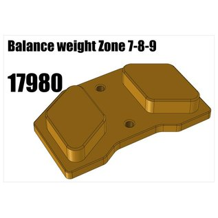 RS5 Modelsport Balance weight Zone 7-8-9