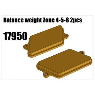RS5 Modelsport Balance weight Zone 4-5-6 2pcs