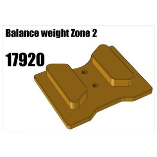 RS5 Modelsport Balance weight Zone 2