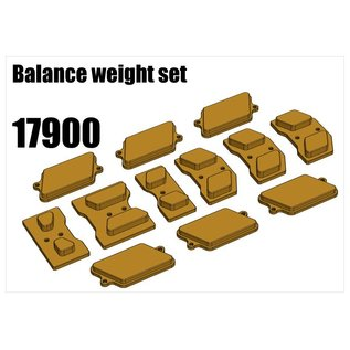 RS5 Modelsport Balance weight set